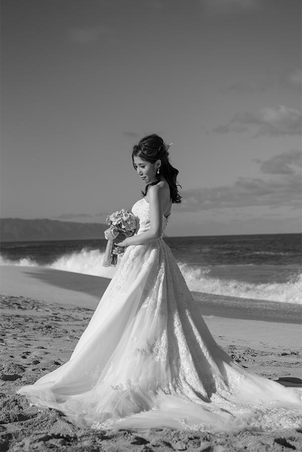 ハワイ ウェディングドレス 人気
