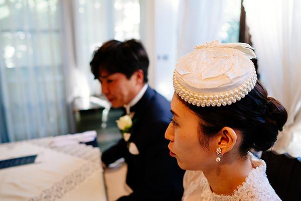 花嫁 アンティークハット