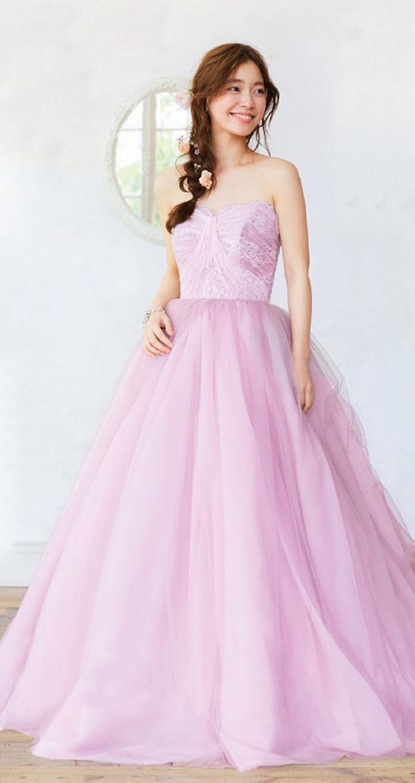 ペールピング カラードレス