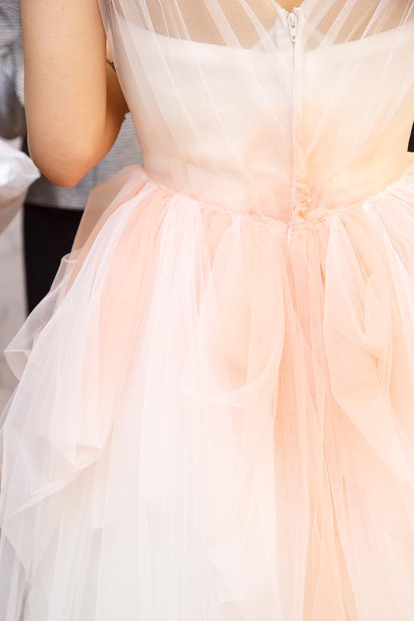 ナチュラルカラー ウェディングドレス