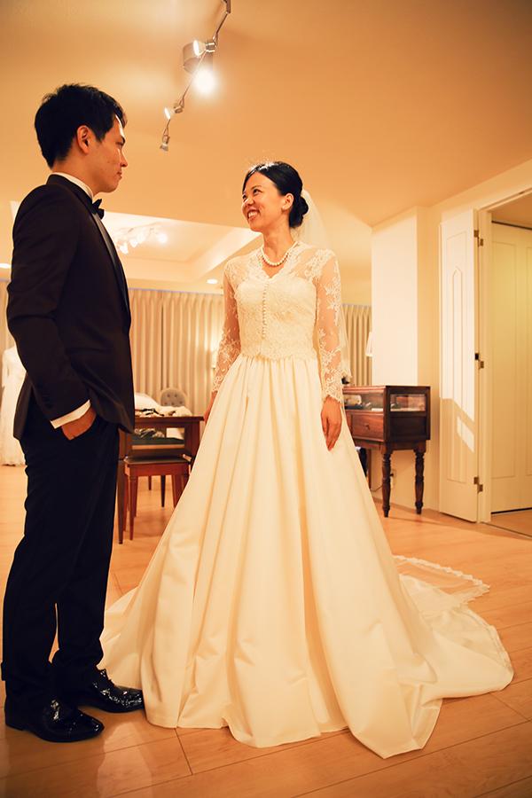 ミカドシルク ウェディングドレス 東京