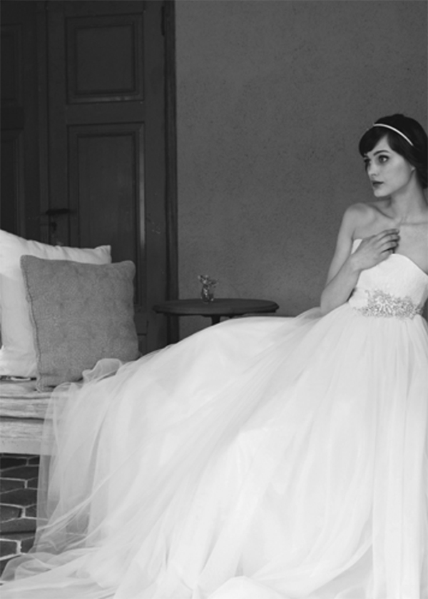 おしゃれな花嫁が着る ウェディングドレス