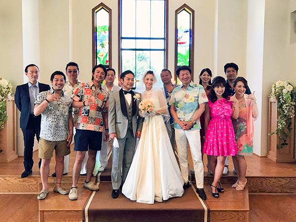 ウェディングドレス ハワイ 海外