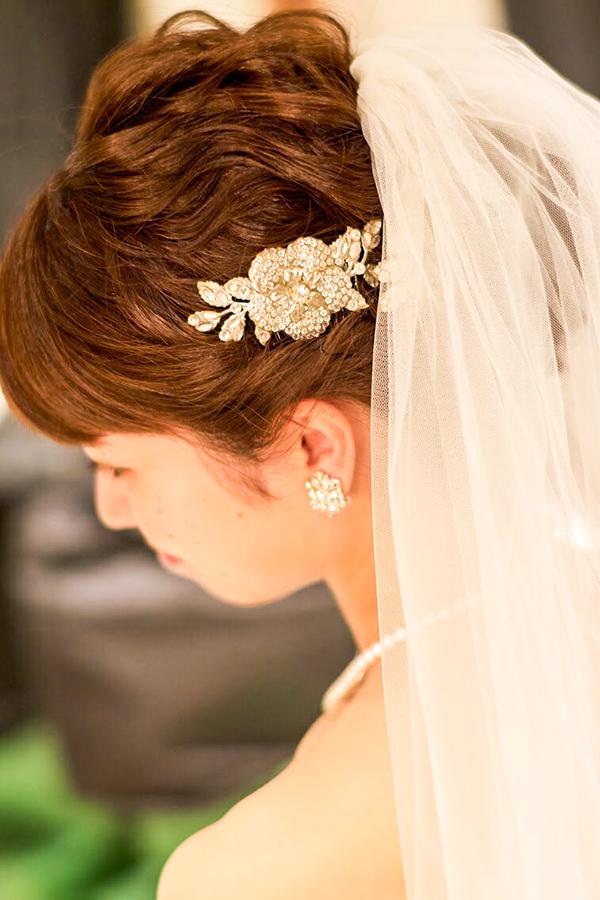 美しい 花嫁スタイル