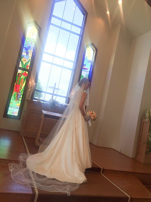 ハワイ結婚式 ウェディングドレス ブーケ