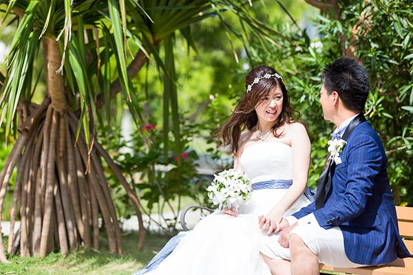 沖縄 結婚式準備