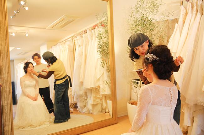 おしゃれな花嫁