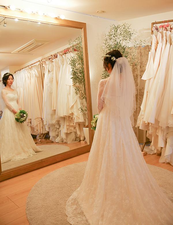 ウェディングドレス 東京で人気