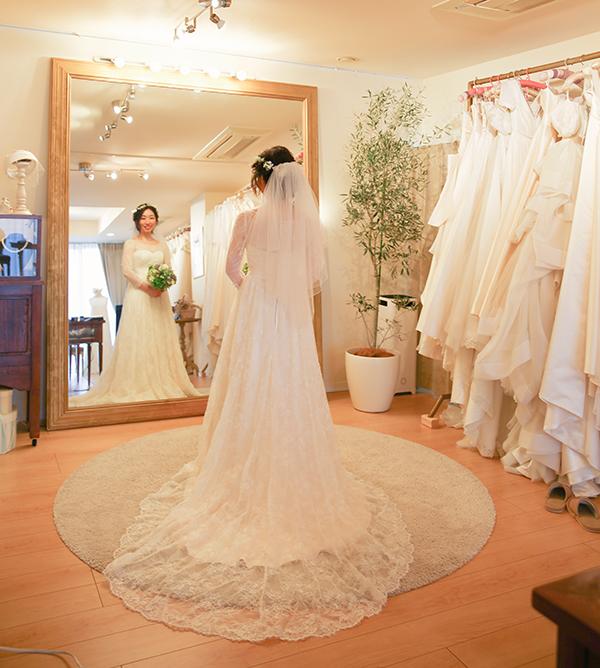素敵な花嫁像