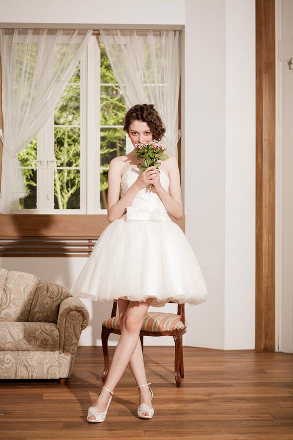 リーズナブル ウェディングドレス