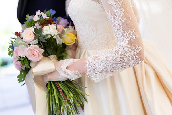 ロングスリーブ ウェディングドレス