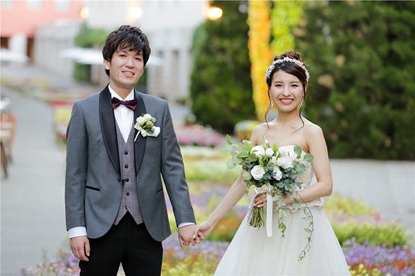 自然の中 結婚式