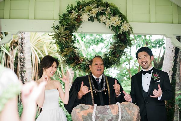 アロハケアクア 結婚式