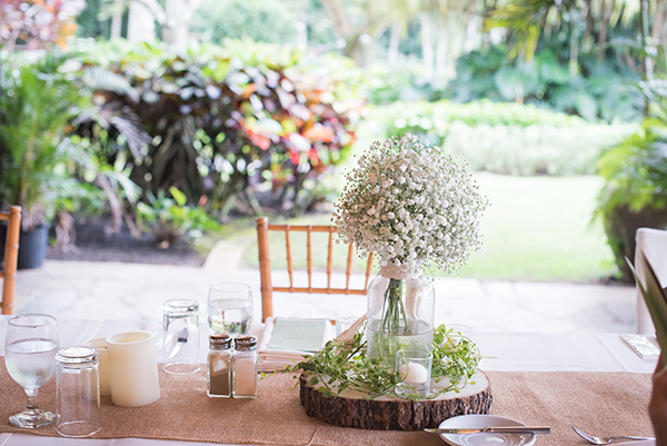 ハワイ テーブル 装飾