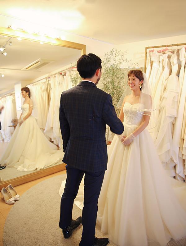 オシャレな結婚式 都内 ドレス選び