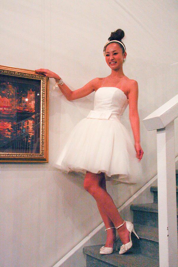 リーズナブル 2次会 ウェディングドレス