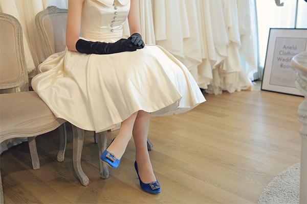 オードリー ウェディングドレス