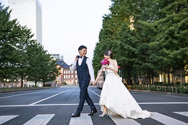 東京駅 ウェディングフォト
