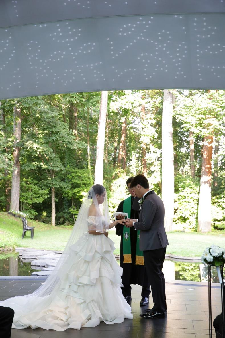 リゾナーレ八ヶ岳 おしゃれ 結婚式