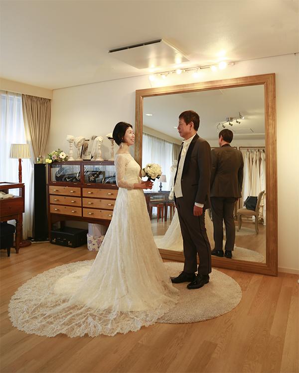 夫婦円満 ウェディングドレス