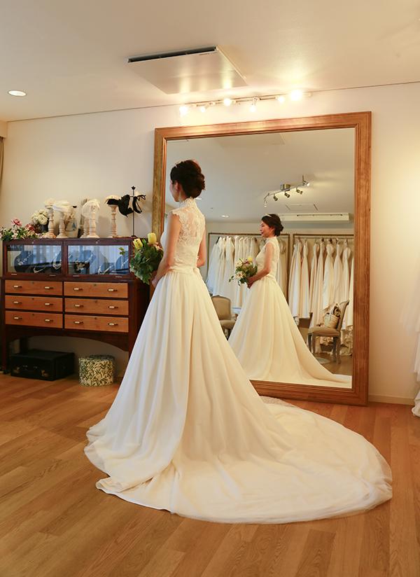 ヨコブキヴィラ キカフ ウェディングドレス