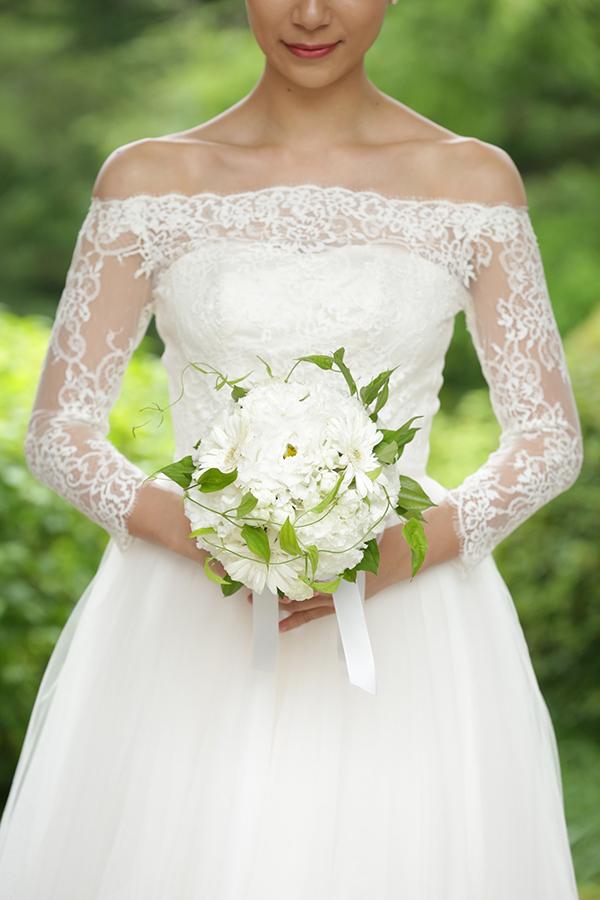 美しい ウェディングドレス