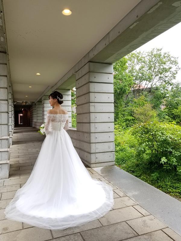 スタイル 良く見える ウェディングドレス